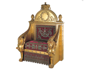 Throne PNG Transparent PNG Clip art
