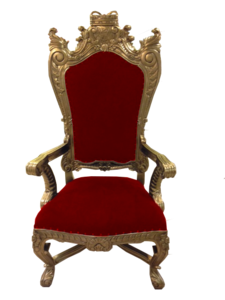 Throne Transparent Background PNG icon