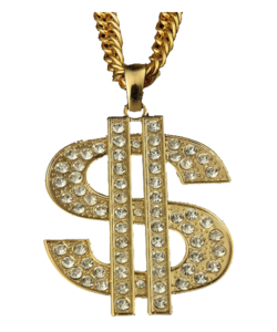 Thug Life Gold Chain PNG Transparent Image PNG Clip art