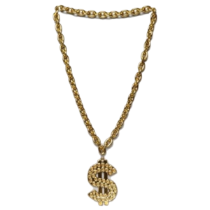 Thug Life Gold Chain Transparent PNG PNG Clip art