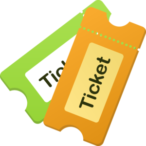 Ticket Background PNG PNG Clip art