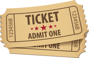 Ticket PNG Free Download PNG Clip art