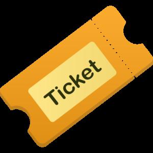 Ticket PNG Transparent Picture PNG Clip art