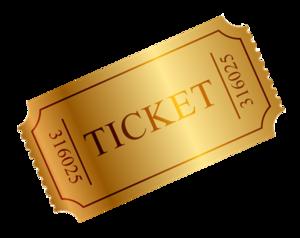 Ticket Transparent PNG PNG Clip art