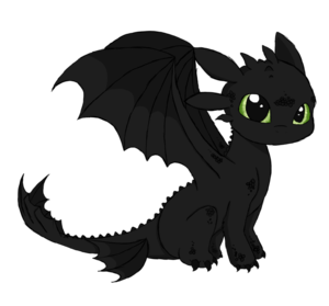 Toothless PNG Background PNG Clip art