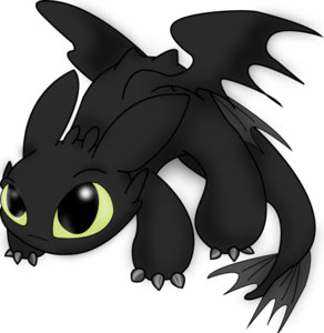Toothless PNG Pic Background PNG Clip art