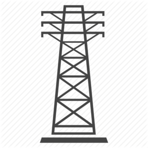 Transmission Tower PNG Photo PNG Clip art