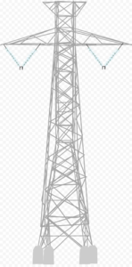 Transmission Tower PNG Pic PNG Clip art