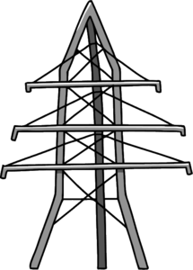 Transmission Tower PNG Picture Clip art