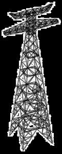 Transmission Tower Transparent Background PNG Clip art