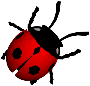 Transparent Ladybug File PNG PNG Clip art