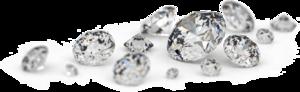 Transparent Loose Diamonds PNG PNG Clip art