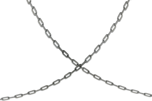 Transparent Silver Chain PNG PNG Clip art
