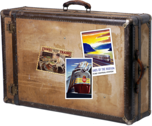 Travel Suitcase PNG PNG Clip art