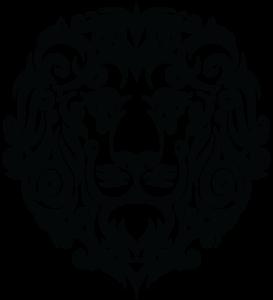 Tribal Leo Lion Tattoo PNG PNG Clip art