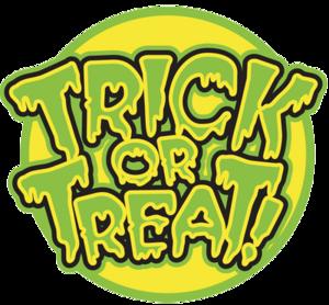 Trick Or Treat Transparent Background PNG Clip art