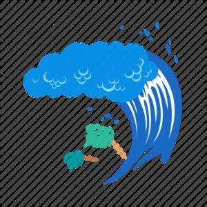 Tsunami PNG Clipart PNG Clip art