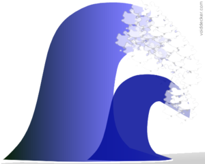 Tsunami PNG File PNG image