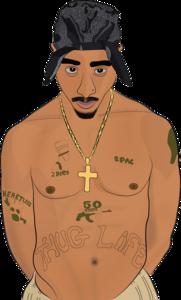 Tupac Shakur PNG Free Image PNG Clip art