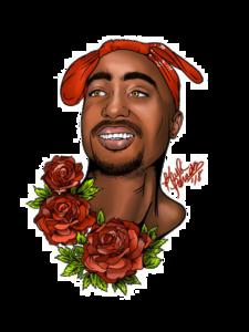 Tupac Shakur PNG Transparent File PNG Clip art