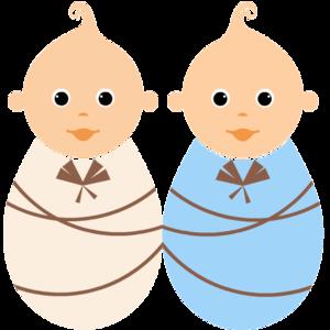 Twins Transparent Background PNG Clip art