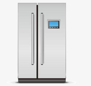 Two Door Refrigerator PNG Clipart PNG Clip art