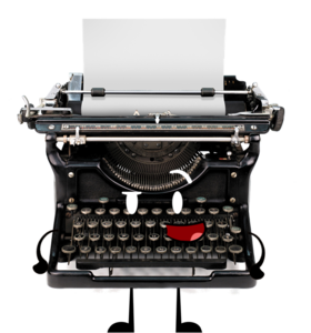 Typewriter Transparent Background PNG Clip art