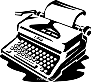 Typewriter Transparent PNG PNG Clip art