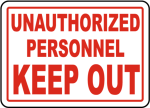 Unauthorized Sign PNG File PNG Clip art