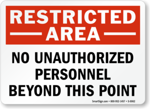 Unauthorized Sign PNG HD PNG Clip art