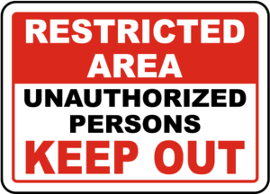 Unauthorized Sign PNG Image PNG Clip art