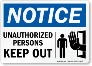 Unauthorized Sign PNG Transparent PNG Clip art