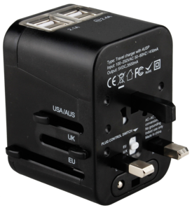 Universal Travel Adapter PNG Pic PNG Clip art