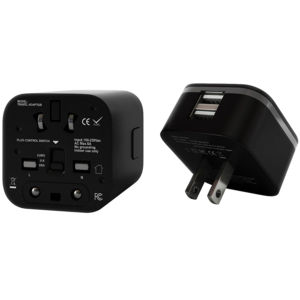 Universal Travel Adapter Transparent Background PNG Clip art
