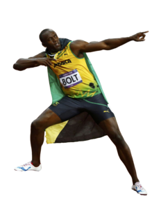 Usain Bolt PNG Pic PNG Clip art
