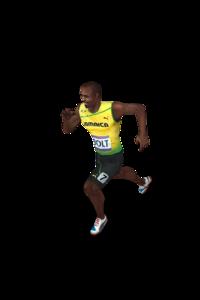 Usain Bolt Transparent Background PNG Clip art