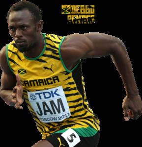 Usain Bolt PNG Clip art
