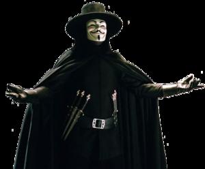 V For Vendetta PNG Image PNG Clip art