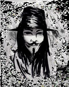 V For Vendetta PNG Pic PNG Clip art