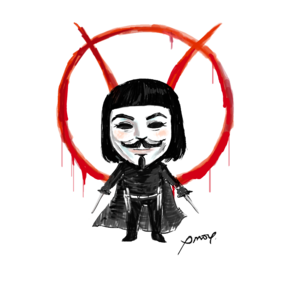 V For Vendetta Transparent PNG PNG Clip art