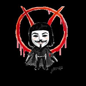V For Vendetta Transparent PNG PNG Clip art