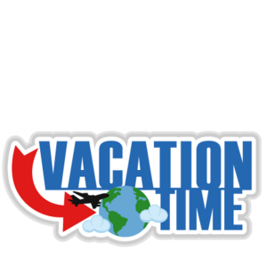 Vacation Transparent Background PNG Clip art