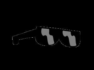 Vector Sunglass PNG Free Download PNG Clip art