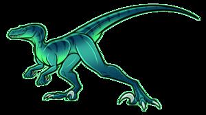 Velociraptor Background PNG PNG Clip art