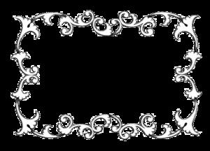 Vintage Border Frame Transparent Background PNG Clip art