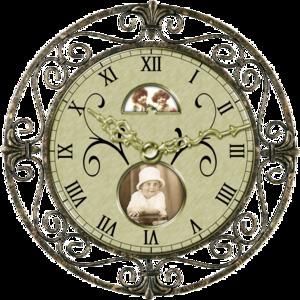 Vintage Clock PNG Transparent Image PNG Clip art