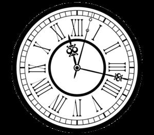 Vintage Clock PNG Clip art