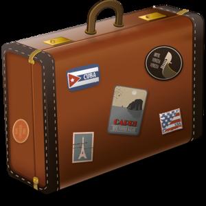 Vintage Suitcase Icon PNG PNG Clip art