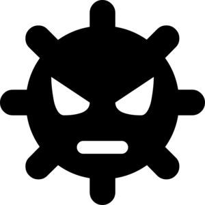 Virus Transparent Background PNG Clip art