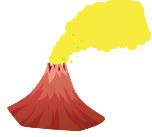 Volcano PNG Image PNG clipart